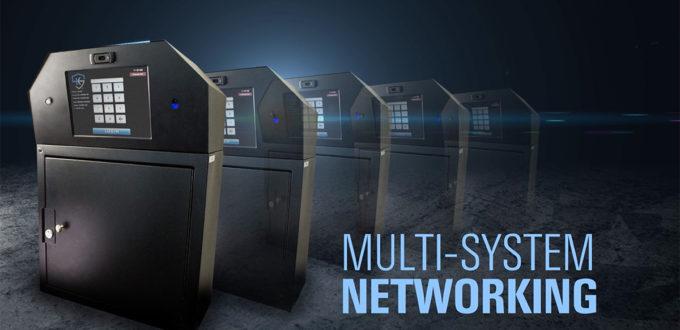 Sæt skabe sammen i netværk